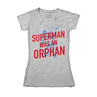 Superman Was an Orphan tee